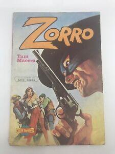 ZORRO #2 - Turkish Comic Book - 1980s - VERY RARE