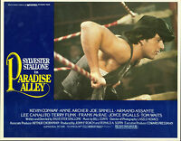 Paradise Alley 1978 lobby card set  Sylvester Stallone, Armand Assante