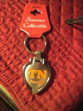 """Key Ring """"TN-Tennessee"""" W LOCKET FOR PICTURE-Beautiful key ring!!"""
