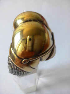 Bronze Kiss My Ass Biker Ring Custom Size MC Chopper Rebel handmade R-64b