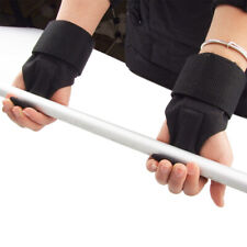 Lifting Hook Power Weight Training Straps Gym Workout Wrist Support Gloves~