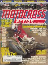 MOTOCROSS ACTION - November 1986 - Larry Brooks / Unadilla 250 GP / NJ Slugfest
