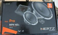 Hertz Mille MPK 163.3 PRO 3-way Component System    New