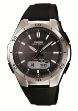 CASIO WAVE CEPTOR WVA-M640-1AJF Solar Multiband 6 Men's Watch