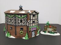 The Old Globe Theatre- Department 56- 2nd Edition- 1998- Dicken's Village Series