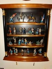 Franklin Mint Civil War Figurines Collection with Case- Fine Pewter-Rare-1986