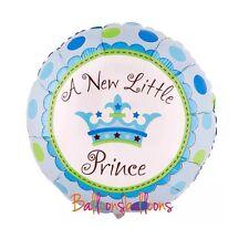 "Boy18"" Helium Balloon newborn Baby Shower Christening Birthday Party Prince"