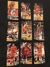 Chicago Bulls NBA Jam Session 93-94 9 Card Set *GREAT CONDITION* Michael Jordan