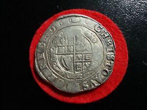 1625 - 1649 Charles I Hammered Silver Halfcrown MM Tun 14.74 Grams R24EA