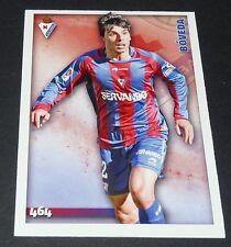 BOVEDA S.D. EIBAR ESPANA FOOTBALL CARD LIGA 2014-2015 MUNDICROMO PANINI