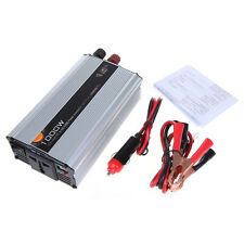 1000W Car Truck Boat DC 12V to AC 220V Power Inverter Charger Converter Adapter