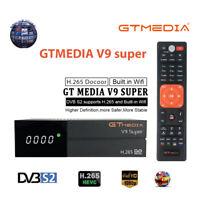 GTMedia V9 SUPER Satelliten-TV-Empfänger Set-Top-Box H.265 HD 1080P DVB-S2 WiFi