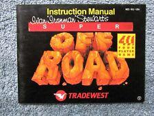 Ivan Stewart Super Off Road manual - no game .... NES Nintendo