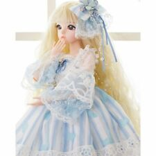 1/3 Mini BJD Dolls 24'' Girl Doll Body FREE FACE MAKE UP + Princess Clothes Wig
