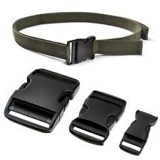 Plastic Adjustable Side Release Buckle for Backpack Webbing Lanyard Strap Parts