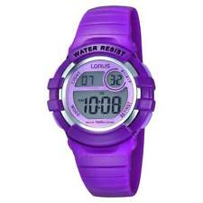 Lorus Kids Digital Purple Strap Watch R2385HX9