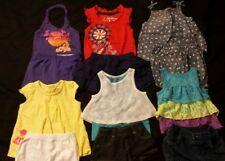Baby Girl Size 12 months Mixed Spring & Summer Clothing Lot *Free Shipping*