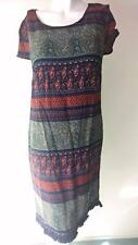 LITTLE LIES DESIGNER SIZE 8 CUTE RAYON BOHO TEE DRESS NEW WITH TAG
