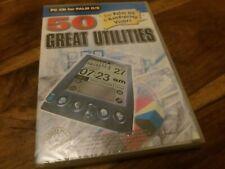 50 große Utilities für Palm O/S & Handspring Visors PC CD für Palm O/S NEU