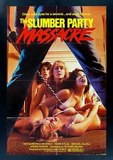 THE SLUMBER PARTY MASSACRE * CineMasterpieces ORIGINAL HORROR MOVIE POSTER 1982