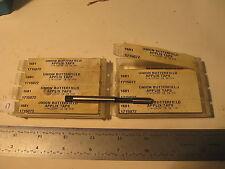 """8 pc Union Butterfield 1/4""""-28NF Bott Forming Taps HSS APPLIX 2B SB 4F MXR(17)"""