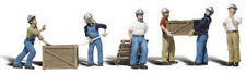 Woodland Scenics N Scale Scenic Accents Figures/People Set Dock Workers (6)