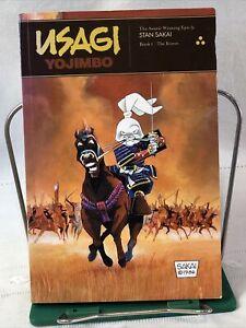 Usagi Yojimbo Book 1: The Ronin By Stan Sakai Signed Paperback Award Winning PO