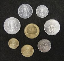 Djibouti coins set of 8 pieces Almost Uncirculated