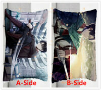 Anime Attack on Titan Body Pillow Case Dakimakura Hugging Otaku Gift 35×55cm #X7