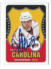 Tom Kostopoulos Signed 2010/11 O-Pee-Chee Card #72
