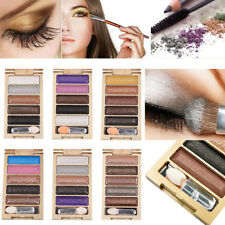 Professional Makeup Set 5 Colors Shimmer Eyeshadow Palette  Glitter Eye Shadow