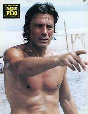 ALAIN DELON PAROLE DE FLIC 1985 VINTAGE LOBBY CARD #2
