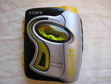 Vtg Walkman Sony Sports Am/Fm Cassette Wm-Fs111 Mega Bass Parts Repair