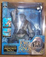 LORD OF THE RINGS  ELECTRONIC ARMOURED TROLL  10in TALL