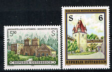 Austria Famous Architecture stamps 1995 MNH