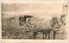 Keystone Bakery Wagon in Nanty Glo PA RP Postcard