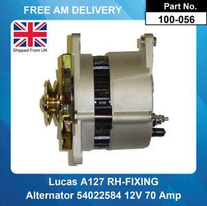 Alternator For MG Rover Lucas Type A127 12V 70 Amp RH-FIXING