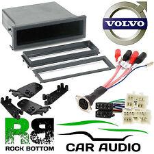 Volvo V70 1996-2000 Car Stereo Radio DIN E Fascia Pocket & Amplifier Bypass Kit