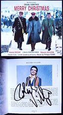 Ronalndo VILLAZON Signiert MERRY CHRISTMAS Natalie DESSAY Philippe ROMBI CD+DVD