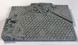 AFV or Figure Base W / Ruins 1/35th Resin Base Scale TW-48013