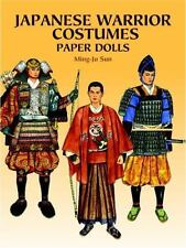 Japanese Warrior Costumes Paper Dolls Dover Paper Dolls