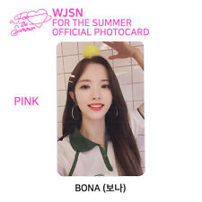 WJSN : Special Album - FOR THE SUMMER Official Photocard - BONA (Pink Ver.)