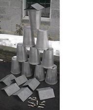 12 MAPLE SYRUP  Sap Pails BUCKETS + Lids Covers + Taps Spouts Spiles