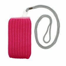 NEW MOBILE PHONE STRETCHY SOCK SLEEVE POUCH LANYARD IPHONE IPOD HOLDER