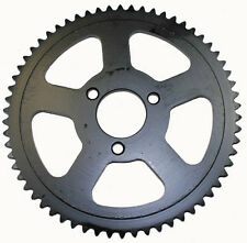 64 Tooth Sprocket #25, 3-bolt for 47cc mini pocket bikes, MTA1, MTA2, 39cc MTA4