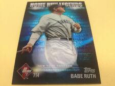 Cartes de baseball Babe Ruth