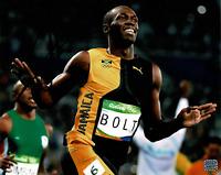 Usain Bolt signed autographed 8x10 photo! RARE! AMCo Authenticated!