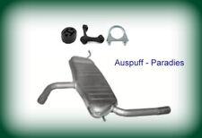 Abgasanlage Auspuffanlage Seat Toledo III 1.6 Typ 5P2 102PS Kit bis 05//2009