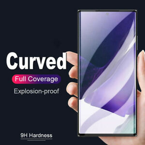 Full Cover Tempered Glass For Samsung Galaxy S21 Ultra S10E S10 S9 S8 Plus Note9