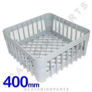 400 X 400 GLASS-WASHER DISH-WASHER OPEN GLASS CUP RACK BASKET 400mm IME OMNIWASH